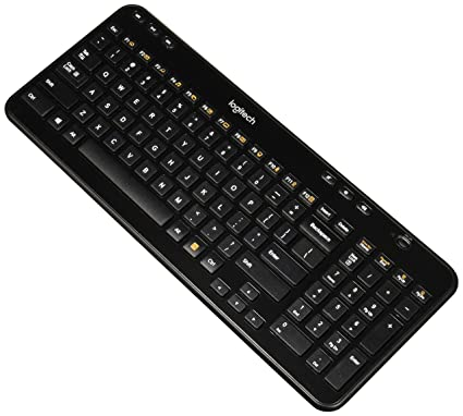 788a0042d8c Logitech K360 Wireless USB Desktop Keyboard - Compact Full Keyboard, 3-Year  Battery Life