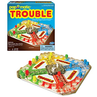 Winning Moves Games Classic Trouble Board Game: Game: Toys & Games