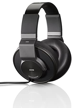 AKG K550 Auriculares con supresión de ruido cerrados atrás referentes en su clase con cascos de