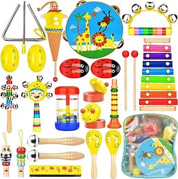 Wesimplelife Juguetes Musicales Instrumentos Musicales para Niños ...