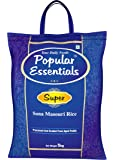 Popular Essentials Super Sona Masouri Raw Rice, 5kg