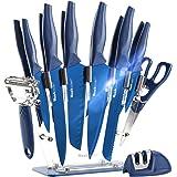 Wanbasion 13 Pieces Kitchen Knife Set Dishwasher Safe