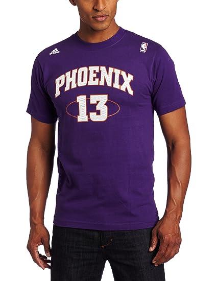 new concept 1b2b4 ceb54 Buy NBA Men's Phoenix Suns Steve Nash #13 Name & Number Tee ...