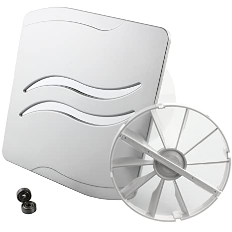 MKK – 18214 – Wave baño Ventilador Vital Ventilador Válvula antirretorno Rodamientos Turbo Ventilador estándar