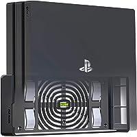 TotalMount wandhouder voor Sony PlayStation 4 Pro console met hittemanagement en veiligheidsclip zwart