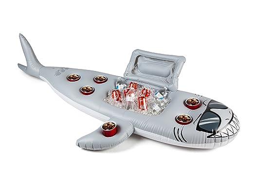 BigMouth Inc. Refrigerador Hinchable del tiburón del ...