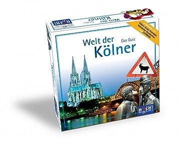 Huch&Friends 877147 Welt der Kölner - Juego de mesa sobre Colonia (versión en alemán)