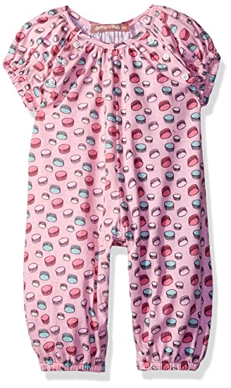 45adf3a3b577 Amazon.com  Jelly the Pug Baby Girls  Deanna Romper  Clothing