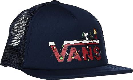 Vans_Apparel Vans X Trucker S Gorra, Azul (Peanuts Christmas ...