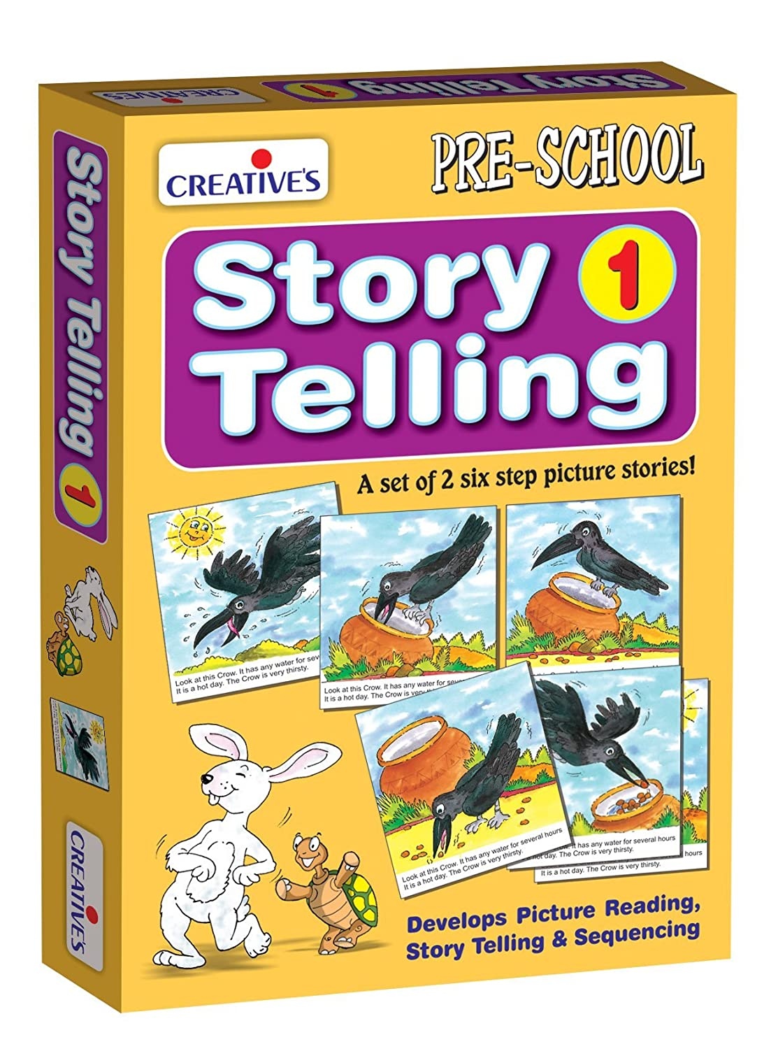 Creative Pre-School - Story Telling Step-by-Step-1 (6 Steps) - (CRE0612) Creative Educational