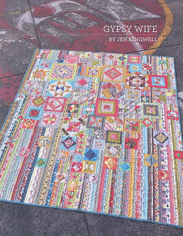 Gypsy Wife By Jen Kingwell Quilting Booklet by Jen kingwell Designs