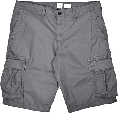 Amazon Com Gap Hombre Gris Pantalones Cortos Cargo 32 Gris Clothing