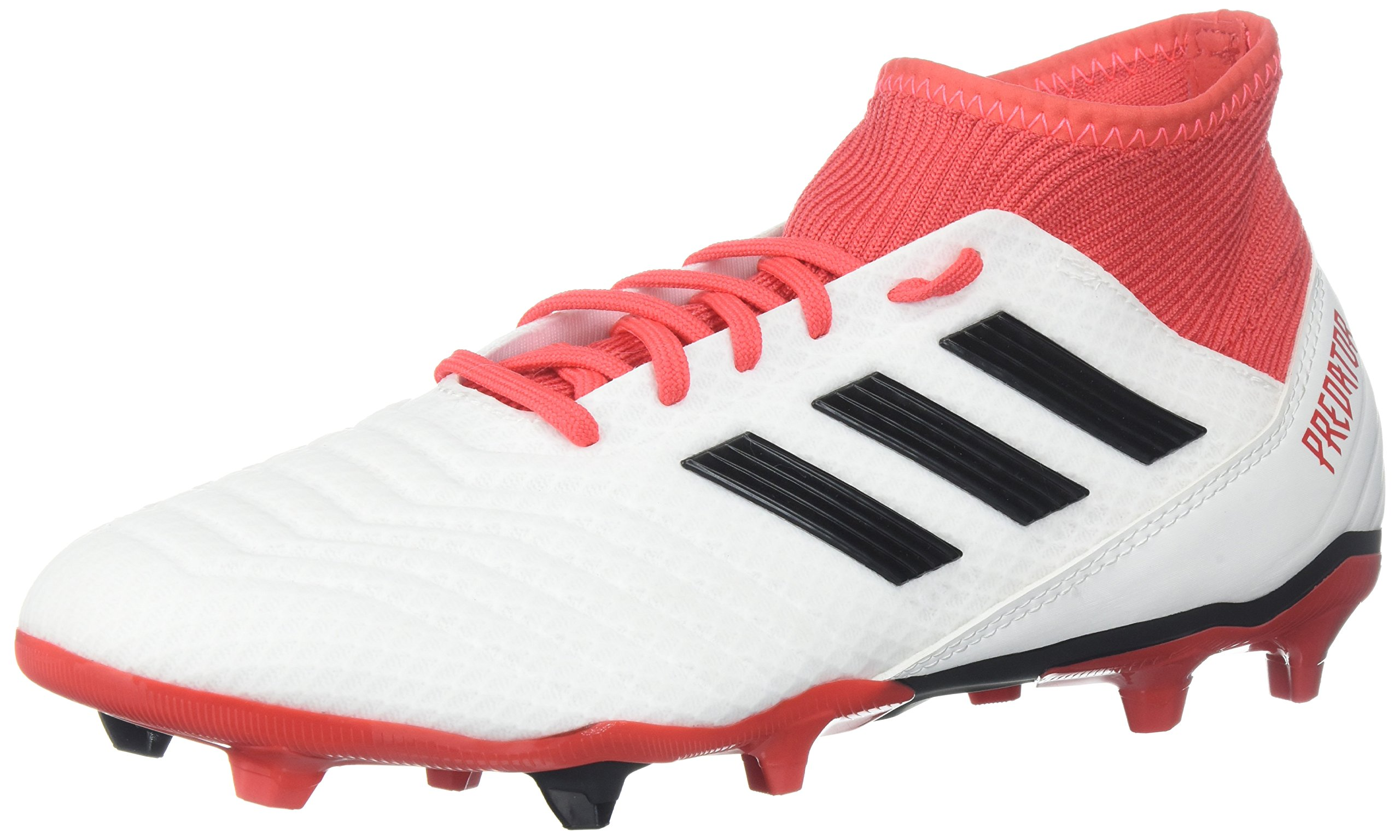 adidas Ace 18.3 FG, White/Core Black/Real Coral, 10 M US by adidas