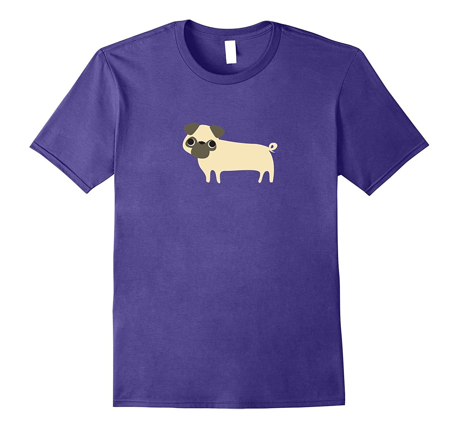 Pug Shirt, Simple Cute Dog Lover Graphic Unique Trendy Gift-T-Shirt