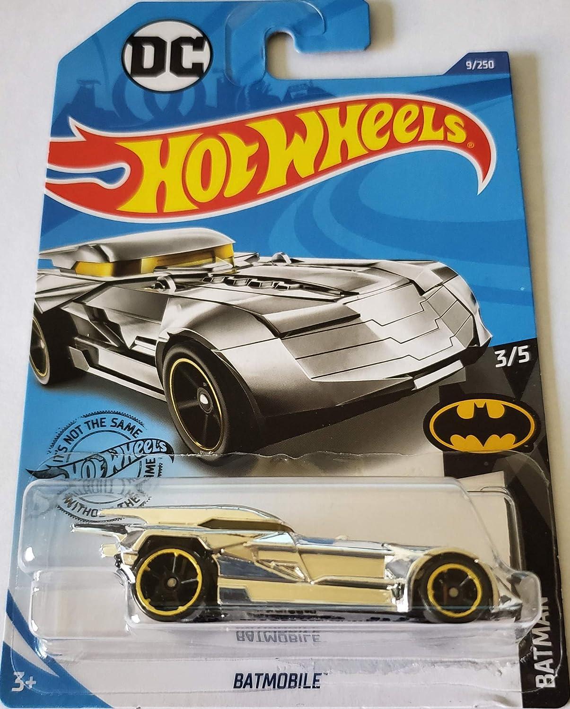 Hot Wheels 2020 Batman Batmobile, 9/250 Chrome: Amazon.es: Juguetes y juegos
