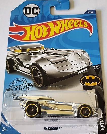 Hot Wheels DC COMICS BATMOBILE GOLD