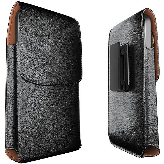 brand new 6c95f c06b8 Meilib Samsung Galaxy S10 Plus Holster Note 8 Belt Case Note 9 Belt Clip  Case - Leather Phone Pouch Case with Belt Clip for Samsung Galaxy S10+ ...