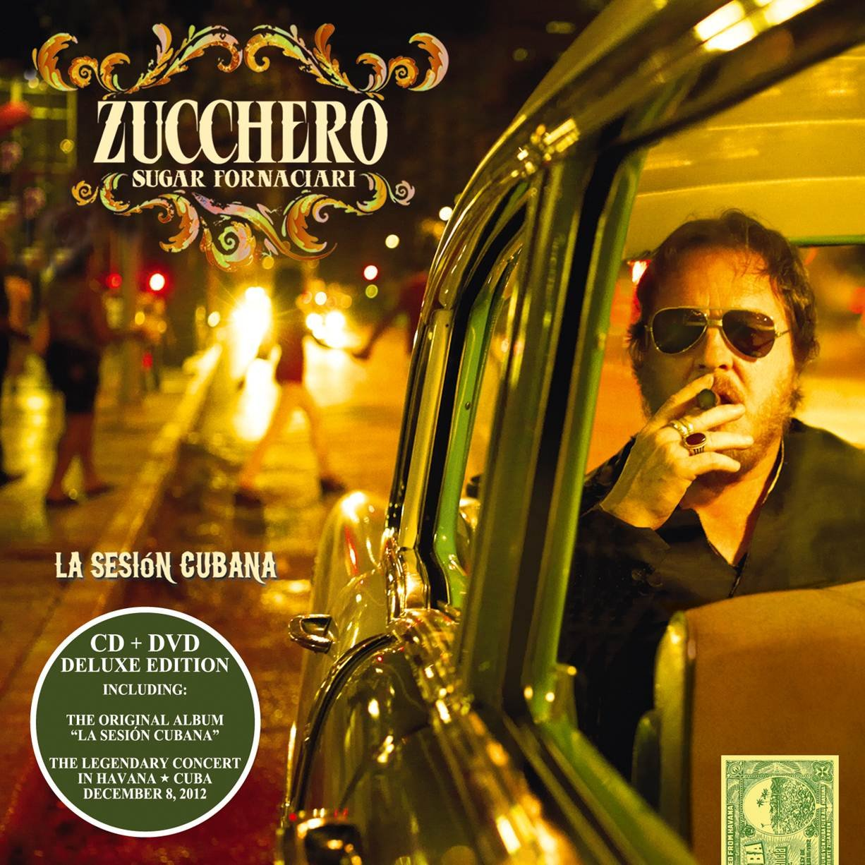 La Sesin Cubana [CD/DVD Combo] by Capitol