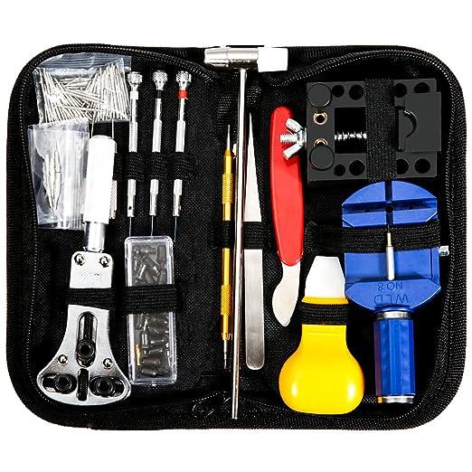 87 opinioni per BABAN 147pcs Orologi Strumenti/Guarda professionale kit Repair Tool,kit di
