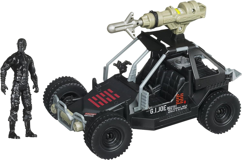 GI Joe Retaliation Ninja Commando 4x4 With Grapple Hook Launcher and Snake Eyes Figure