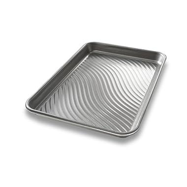 USA Pan Patriot Pan Bakeware Aluminized Steel Quarter Sheet Pan