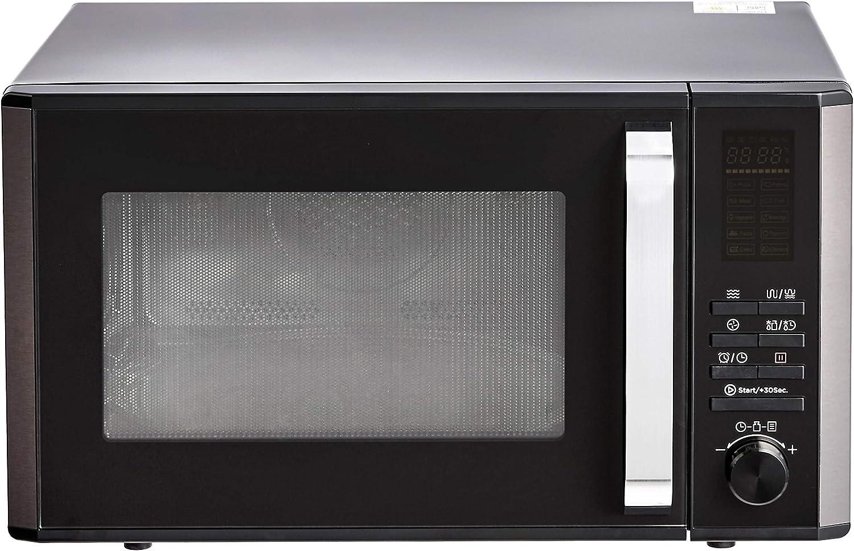 AmazonBasics – Microondas digital de mesa, horno de convección y grill, 25l, 900W