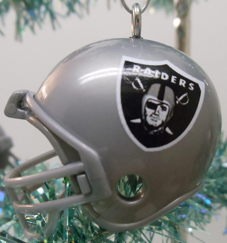 Amazon.com: Oakland Raiders Set of 12 Holiday Christmas Tree ...