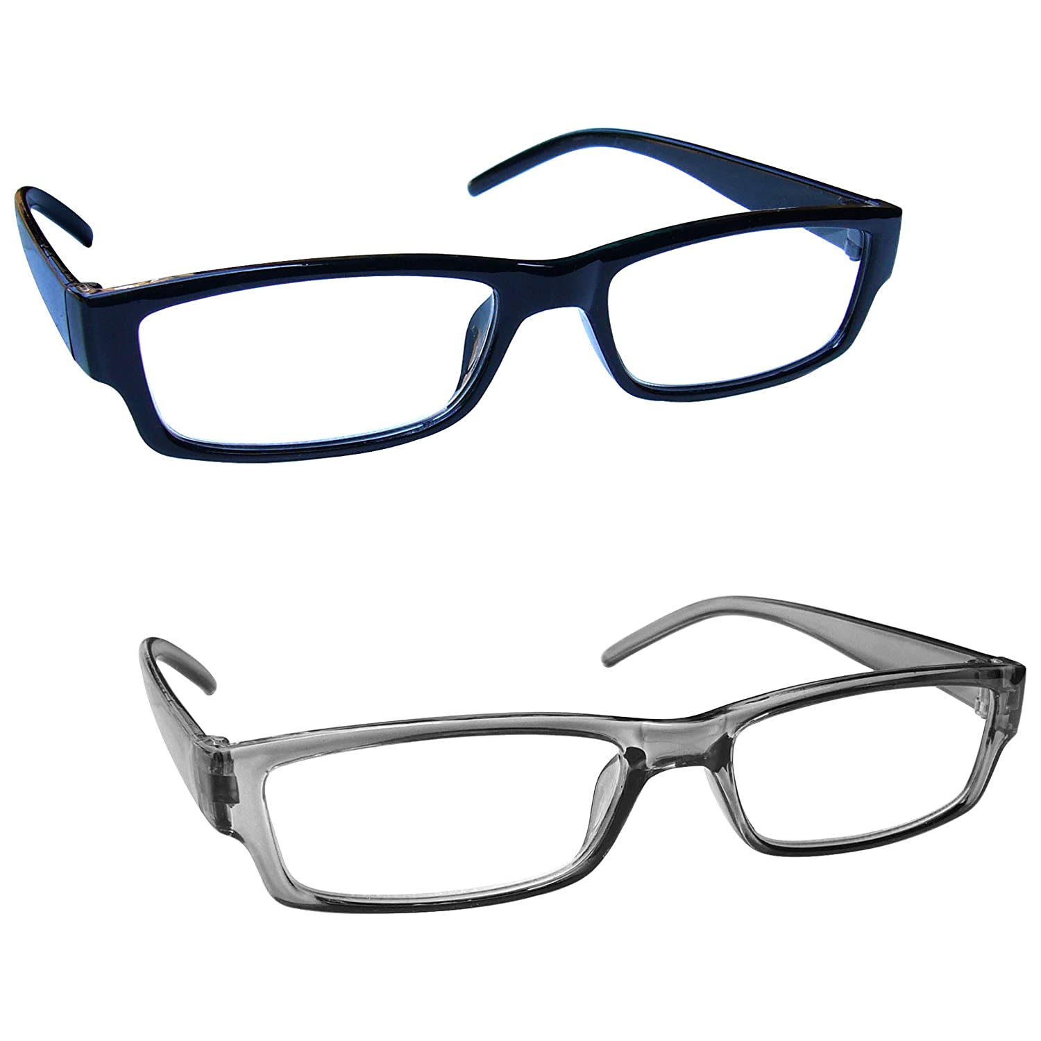 b704935a03 Amazon.com  The Reading Glasses Company Black   Brown Tortoiseshell  Lightweight Readers Value 2 Pack Mens Womens RR32-12 +1.50  Health    Personal Care