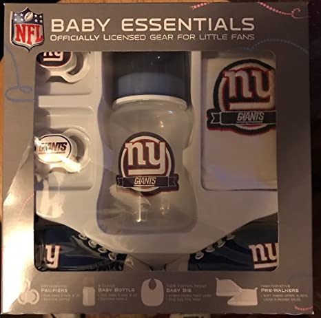 1e403d7c6a5 Amazon.com : Baby Fanatic NFL New York Giants Infant and Toddler Sports Fan  Apparel : Sports & Outdoors