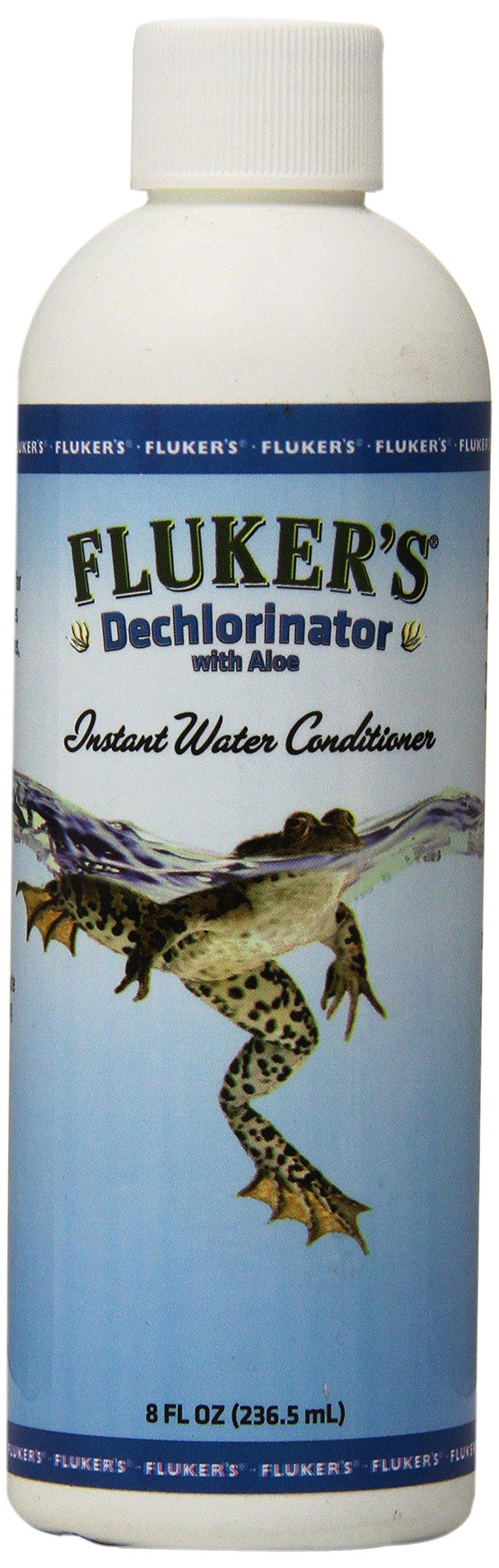 Fluker Labs SFK42000 Reptile Aloe Dechlorinator, 8 oz
