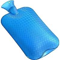 KUFL XXL 3L warmwaterkruik blauw tegen menstruatieklachten, rugpijn, kou en maagpijn.
