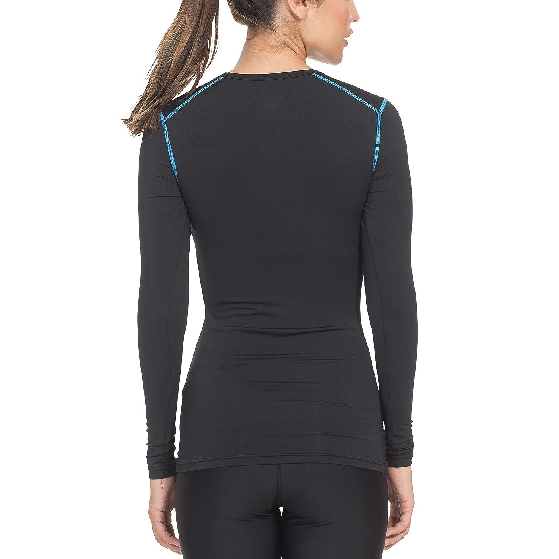 Gregster - T-shirt de compression pour femmes - Manches longues ... 74ae2b3f02b