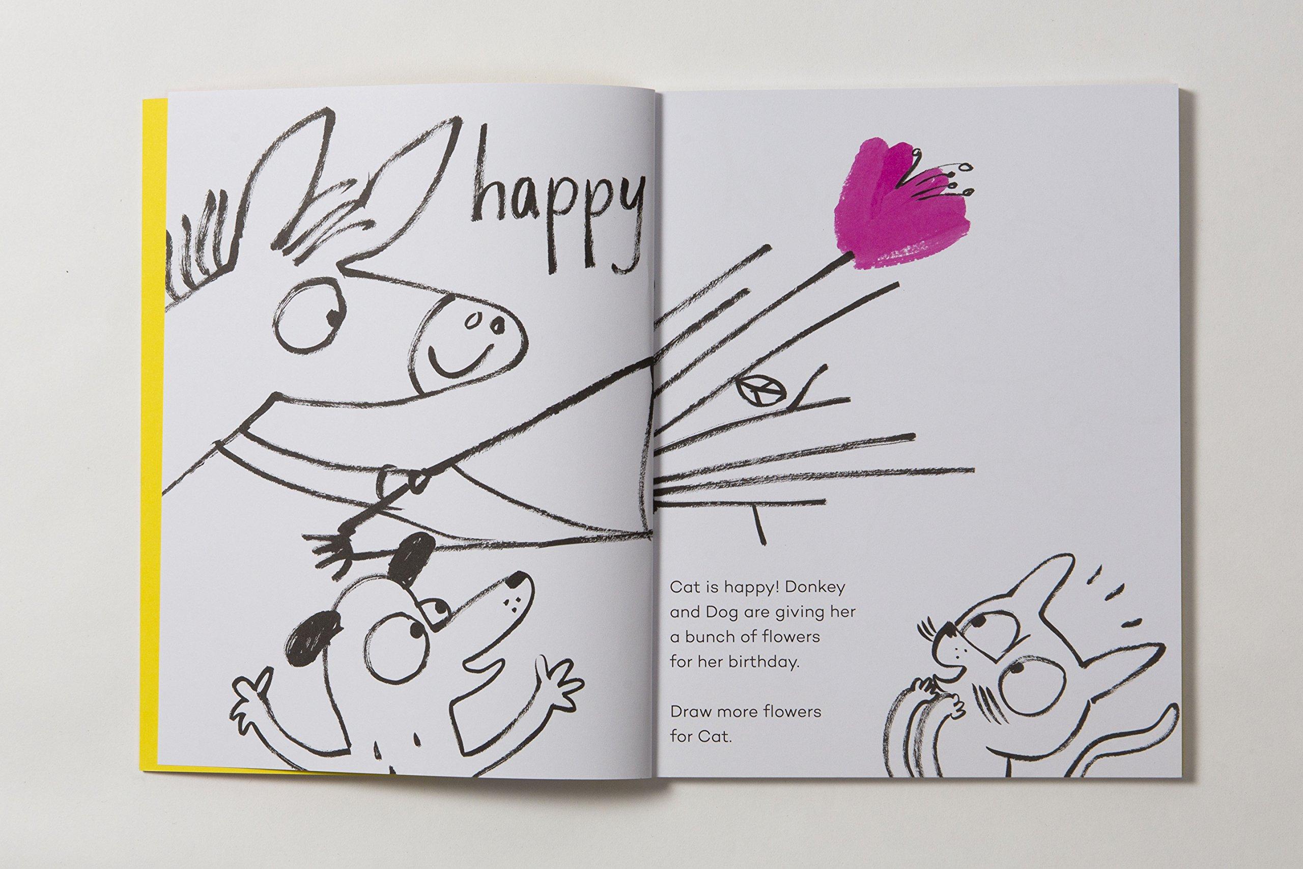 Happy Sad Feeling Glad Draw Discover Yasmeen Ismail Kumon Creative Doodling Workbooks 2 Books 9781780679327