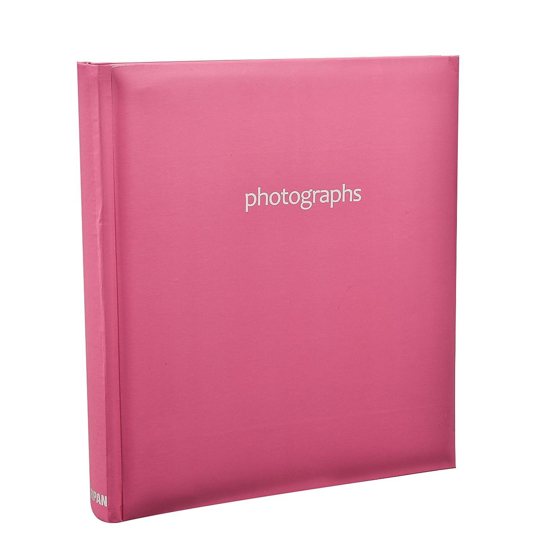 Arpan Grande Memo slittamento pastello rosa caldo In rilegati Photo Album per 120 5x7 Foto AL-9142