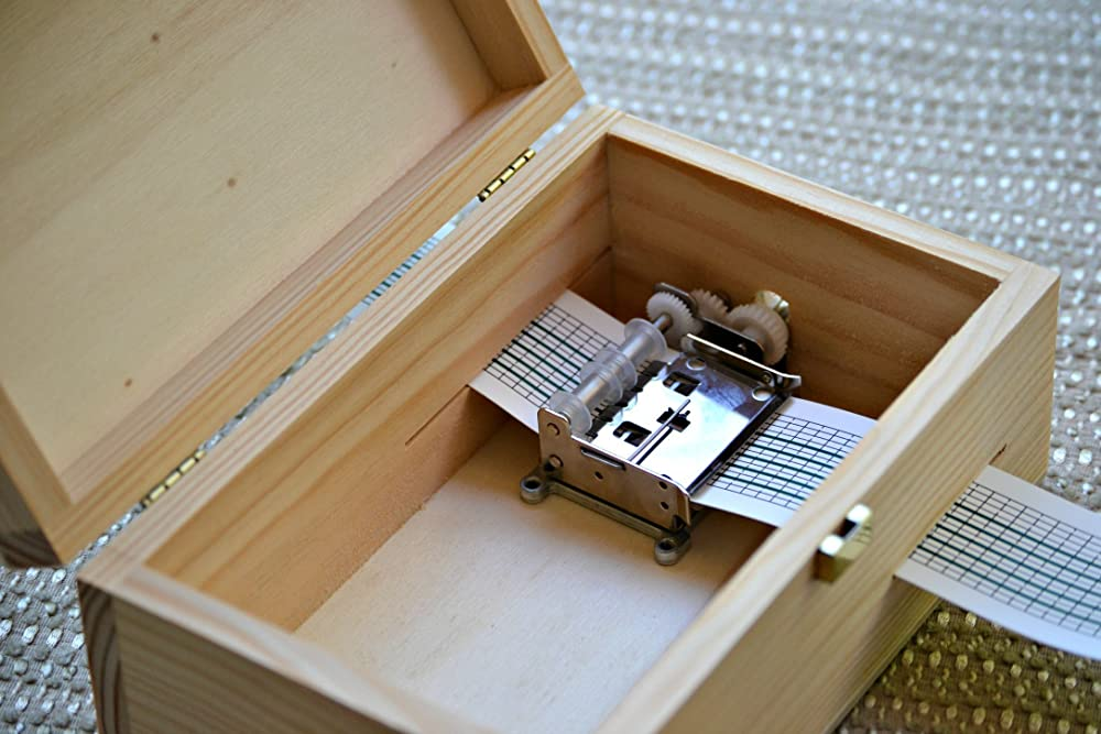 Pack DIY para hacer tu propia caja de música: Amazon.es: Handmade