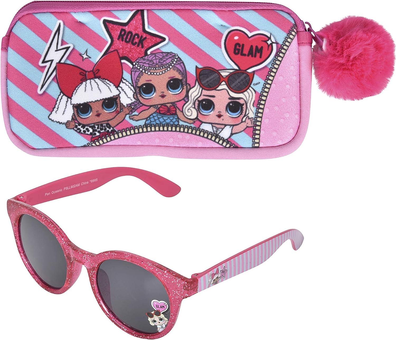 341 LOL Surprise Childrens//Kids Heart Sunglasses