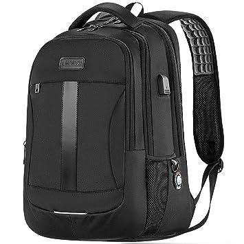 Amazon.com: Sosoon - Mochila para ordenador portátil, con ...