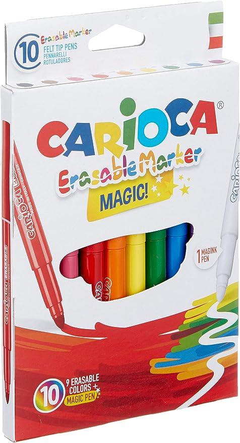 Carioca A52412388 - Pack de 10 rotuladores: Amazon.es: Oficina y ...