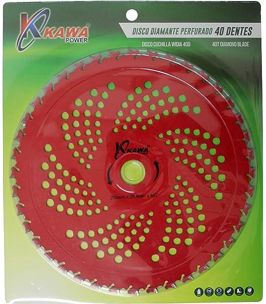 Bricoferr BF042K Disco cuchilla de Widia con 36 puntas semi ...