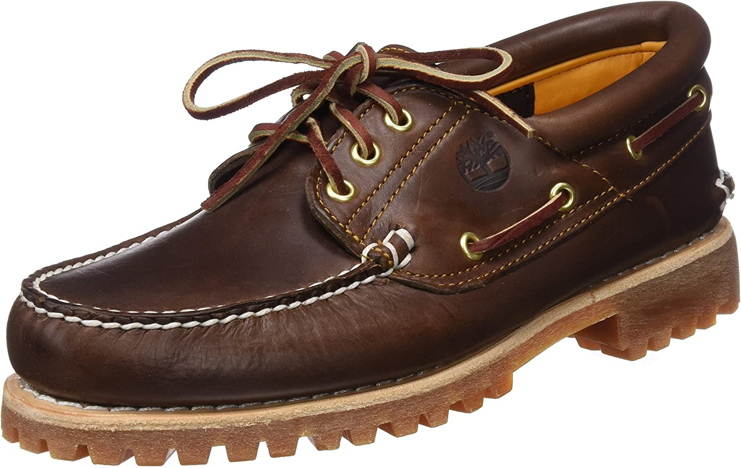 Timberland Mens Authentics Lace-Up Shoes: Amazon.es: Ropa y ...