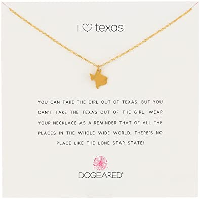 Amazon dogeared reminders i heart texas gold dipped dogeared reminders quoti heart texasquot gold dipped sterling silver texas state charm mozeypictures Images
