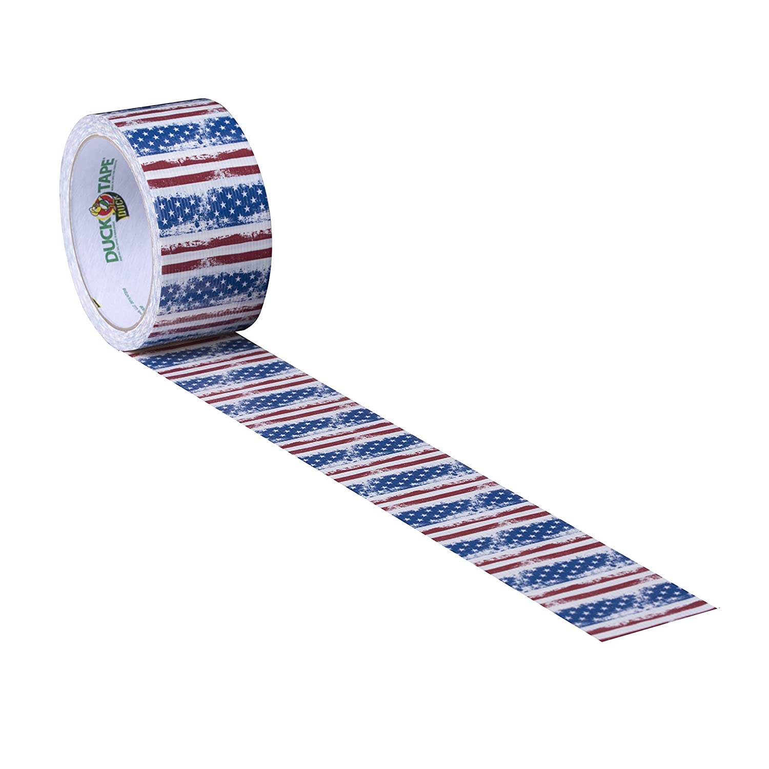 1.88 Inches x 10 Yards Single Roll Duck Brand 1379347 Printed Duct Tape Spotted Leopard