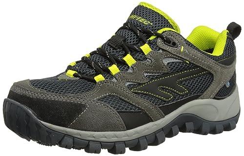 Hi-Tec Men's Trail Blazer Hiking Boots - Charcoal/Black, ...