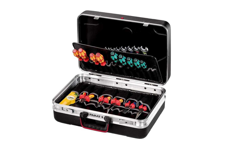 ohne Inhalt 533.000.171 1 L/ängssteg Prarat Werkzeugkoffer SILVER Plus 3 Querstege 48x35x18cm 2 Schl/üssel
