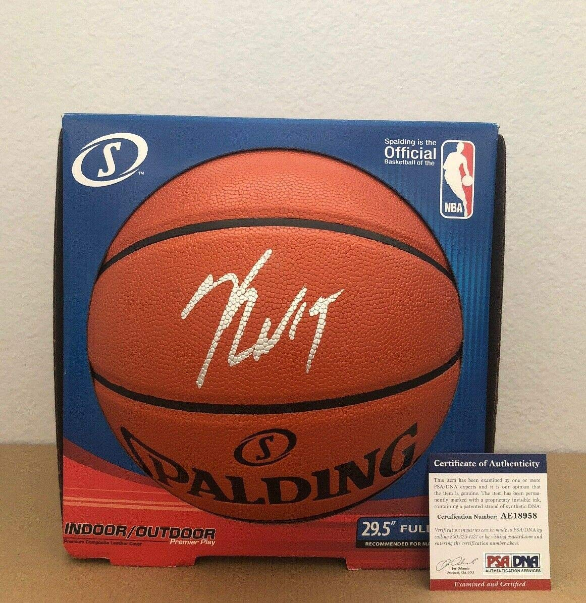 376ae5eaeac Kemba Walker Charlotte Hornets Autographed Signed Basketball Memorabilia  PSA DNA at Amazon s Sports Collectibles Store