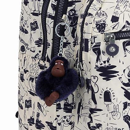 371c0005a Mochila Kipling Clas Seoul Escolar Colab Print: Amazon.com.br: Amazon Moda