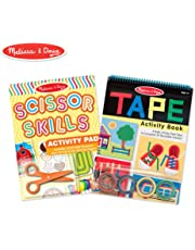 Melissa & Doug Scissor Skills and Tape Activity Books Set