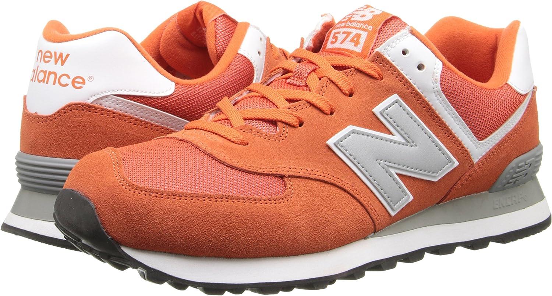 Soldes > new balance orange 574 > en stock