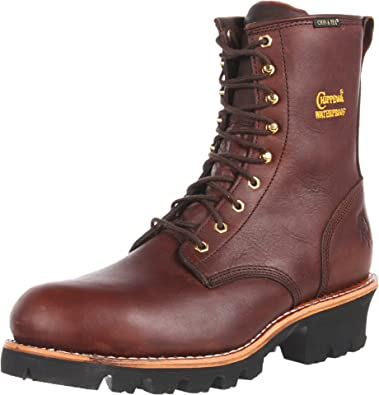 401b0a2df186 Chippewa Men s 73060 8 quot  Waterproof Insulated Steel Toe Logger