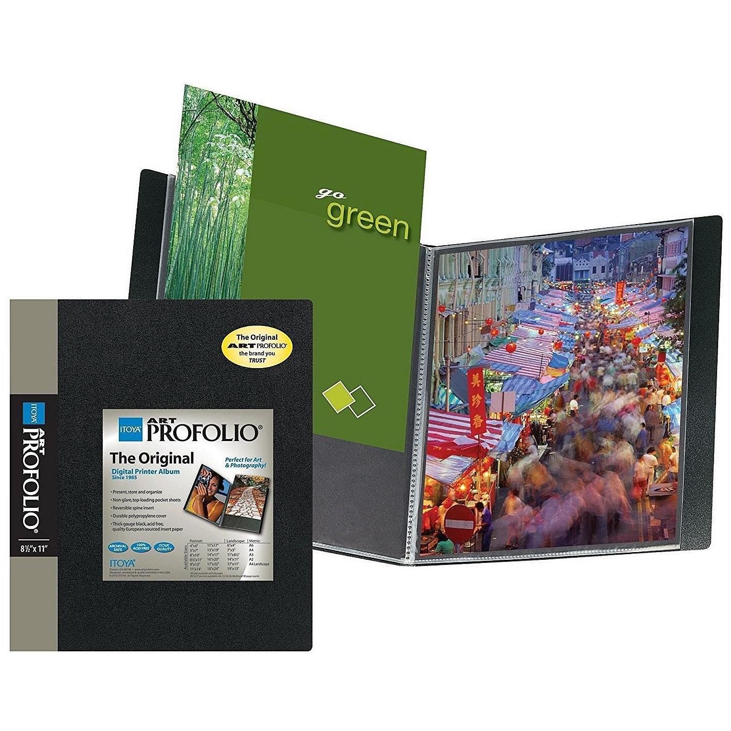 Amazoncom Itoya Art Profolio Storagedisplay Book 8 12 In X 11 In